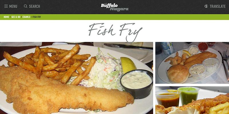 Visit Buffalo Niagara, Joe's Deli, Fish Fry, Fish Fry Crawl